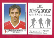 Manchester United Gary Neville England 19